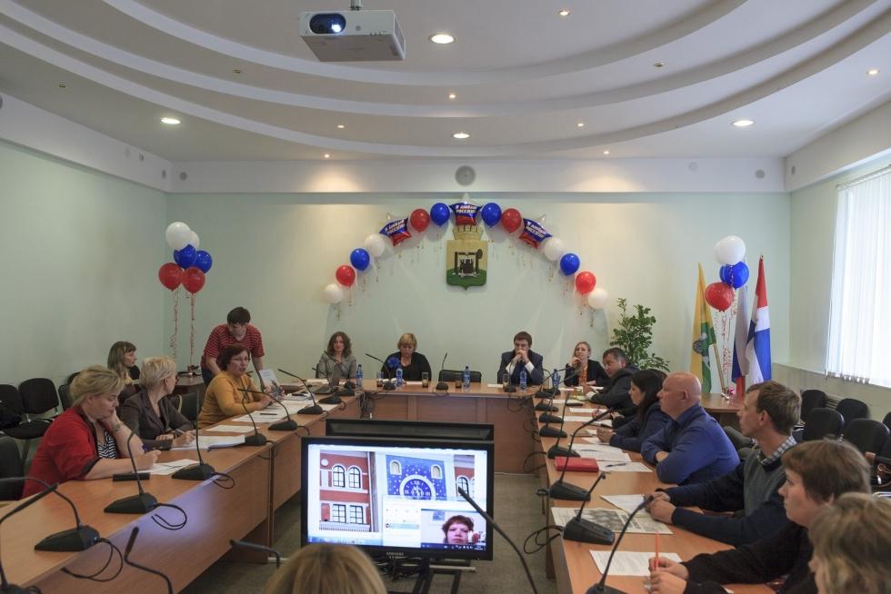 27.08.2014г состоялось совещание в Администрации г. Соликамска